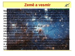 Zem a vesmr Uebnice strana 150 Vesmr i