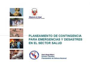 Ministerio de Salud Personas que atendemos Personas PLANEAMIENTO