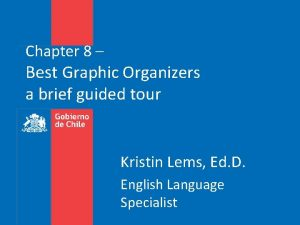 Chapter 8 Best Graphic Organizers a brief guided