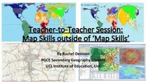 TeachertoTeacher Session Map Skills outside of Map Skills