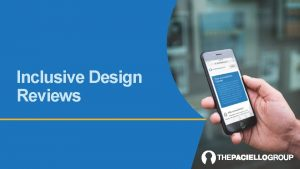 Inclusive Design Reviews Deliverables Deliverables 1 Annotated designs