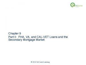 California Real Estate Principles 10 1 Edition Chapter
