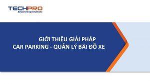 GII THIU GII PHP CAR PARKING QUN L
