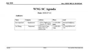 July 2020 doc IEEE 802 11 201013 r