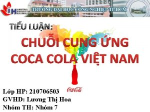 TIU LUN CHUI CUNG NG COCA COLA VIT
