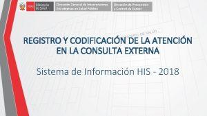 Direccin General de Intervenciones Estratgicas en Salud Pblica