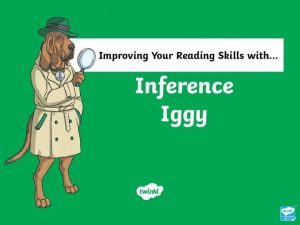 What Does Inference Iggy Do Make inferences from
