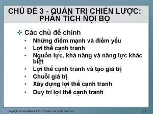 CH 3 QUN TR CHIN LC PH N