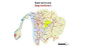 Kvam kommune Skogmarkbrann Skog markbrann Kvam kommune Risikoomrder