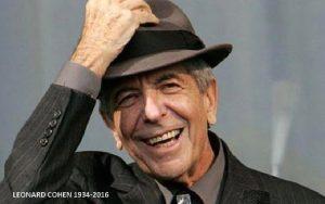 LEONARD COHEN 1934 2016 Leonard Norman Cohen was
