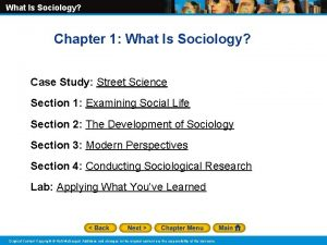 What Is Sociology Chapter 1 What Is Sociology