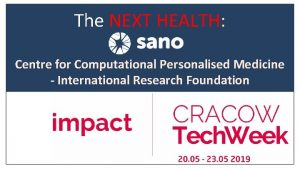 The NEXT HEALTH Centre for Computational Personalised Medicine