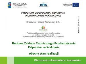 Projekt wspfinansowany przez Uni Europejsk ze rodkw Funduszu