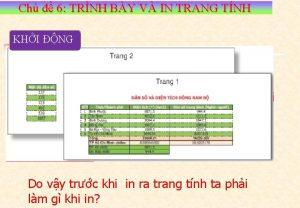 Ch 6 TRNH BY V IN TRANG TNH