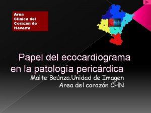 Area Clinica del Corazn de Navarra Papel del