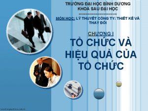 TRNG I HC BNH DNG KHOA SAU I