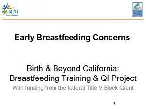 Early Breastfeeding Concerns Birth Beyond California Breastfeeding Training