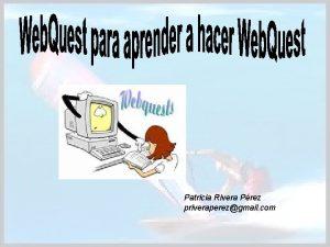 Patricia Rivera Prez priveraperezgmail com INTRODUCCIN TAREA PROCESO