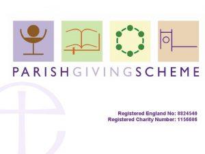 Registered England No 8824540 Registered Charity Number 1156606