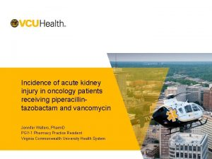Incidence of acute kidney injury in oncology patients