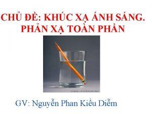 CH KHC X NH SNG PHN X TON