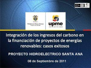 Integracin de los ingresos del carbono en la