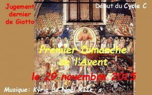 Jugement dernier de Giotto Dbut du Cycle C