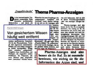 Drei ungelste pharmakologische Geheimnisse Warum werden so viele