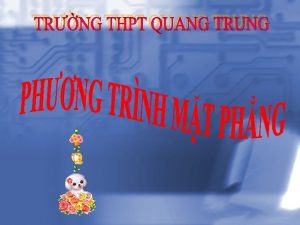 Vn vc t php tuyn trong h Trong