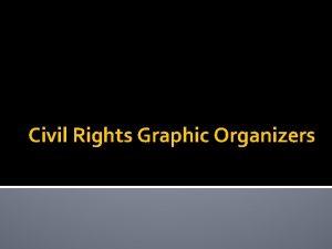 Civil Rights Graphic Organizers Complete 3 protest diagrams