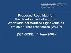 Informal document No WP 29 148 22 148