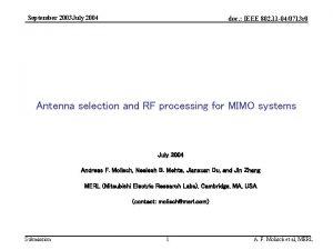 September 2003 July 2004 doc IEEE 802 11