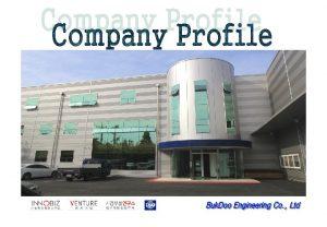 COMPANY PROFILE HISTORY TURNOVER CUSTOMER AUTOMATION ORGANIZATION COMPANY
