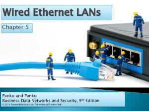 Wired Ethernet LANs Chapter 5 Ethernet Basics Physical