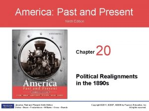 America Past and Present Ninth Edition Chapter 20