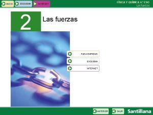 INICIO ESQUEMA 2 FSICA Y QUMICA 4 ESO