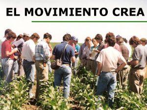 EL MOVIMIENTO CREA ID Movimiento CREA 2008 versin