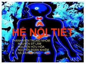 H NI TIT THNH VIN TRONG NHM 1