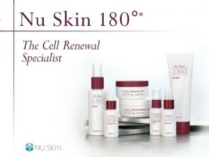 2001 Nu Skin International Inc Nu Skin 180