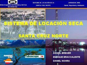 stituto Argentino del Petrleo y del Gas Seccional
