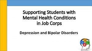 Supporting Students with Mental Health Conditions in Job