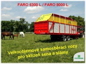 FARO 6300 L FARO 8000 L y z