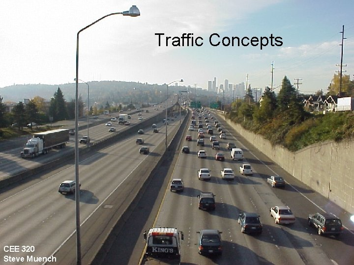 CEE 320 Winter 2006 Traffic Concepts CEE 320