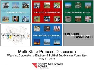 MultiState Process Discussion Wyoming Corporations Elections Political Subdivisions