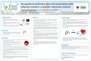Occupational sedentary time and associations with adiposity markers