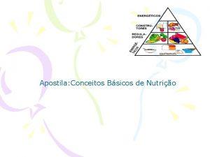 Apostila Conceitos Bsicos de Nutrio CONCEITOS BSICOS DE