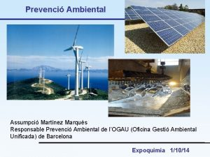 Prevenci Ambiental Assumpci Martnez Marqus Responsable Prevenci Ambiental