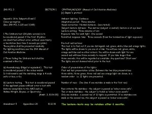 JARFCL 3 SECTION 1 Appendix 14 to Subparts