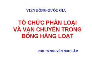 VIN BNG QUC GIA T CHC PH N