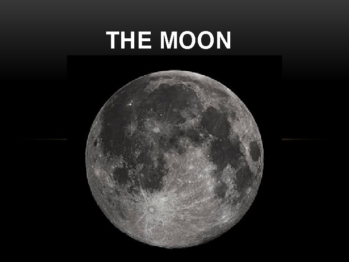 THE MOON PREDICTABLE MOON PATTERN PREDICTABLE MOON PATTERN